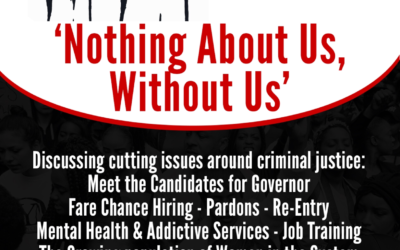 "We will be Panelists at the NAACP-CT ""Nothing About Us Without Us"" Criminal Justice Summit, April, 21, 2018"